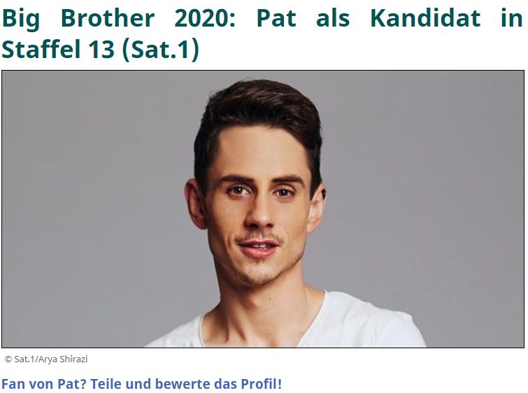 Pat (Patrick Müller), Trauredner aus Niedersachsen